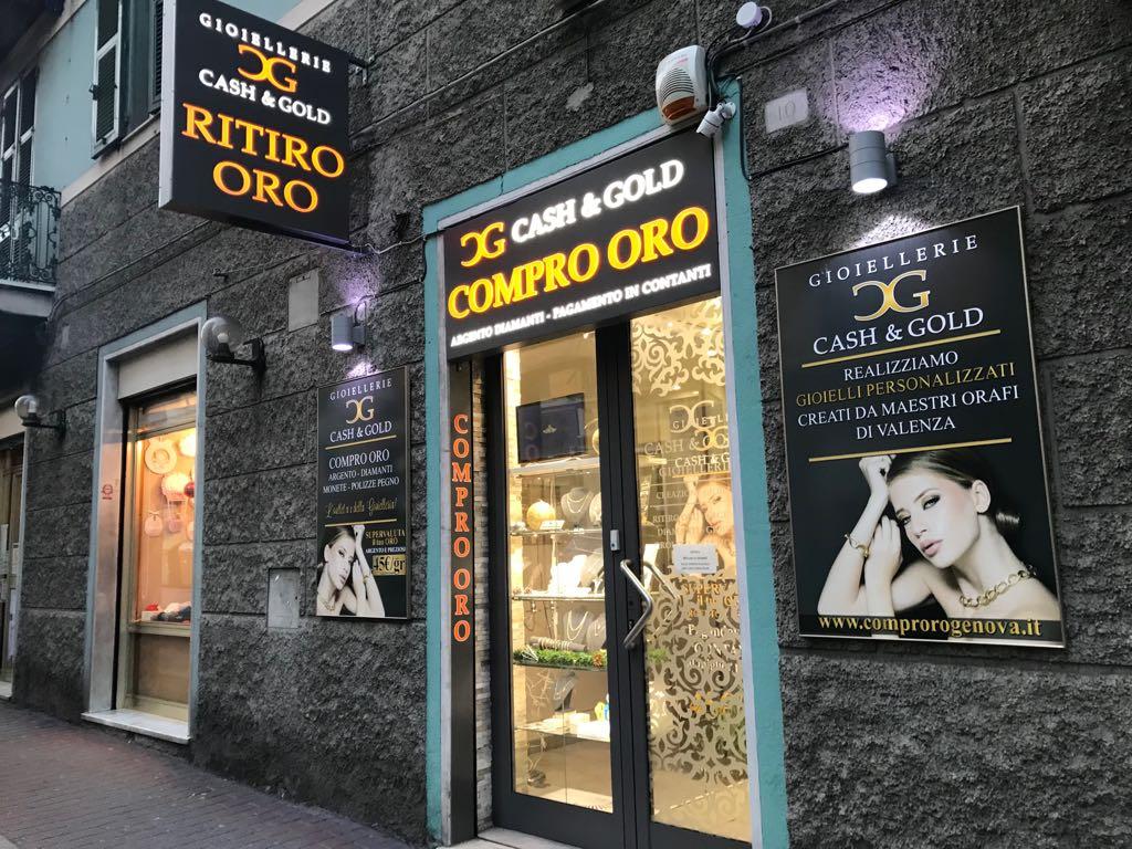 Cash and Gold Via puccini genova